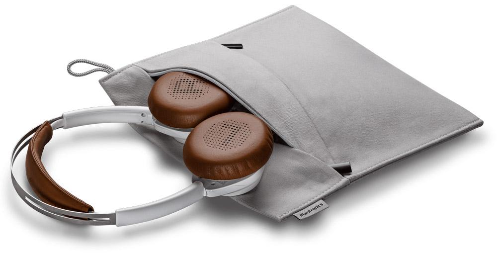 Stylish bag included with Backbeat Sense