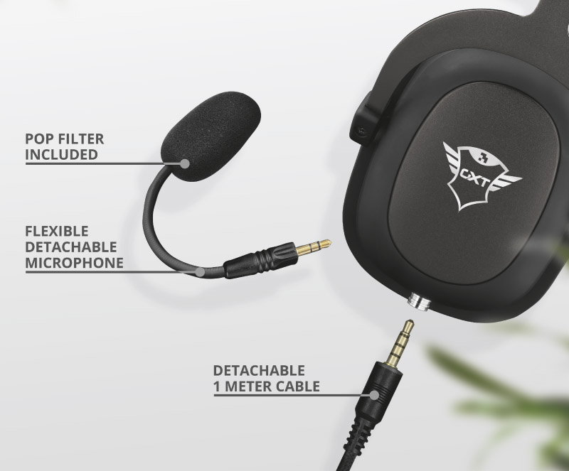 Trust Zamak GXT 414 Gaming Headset