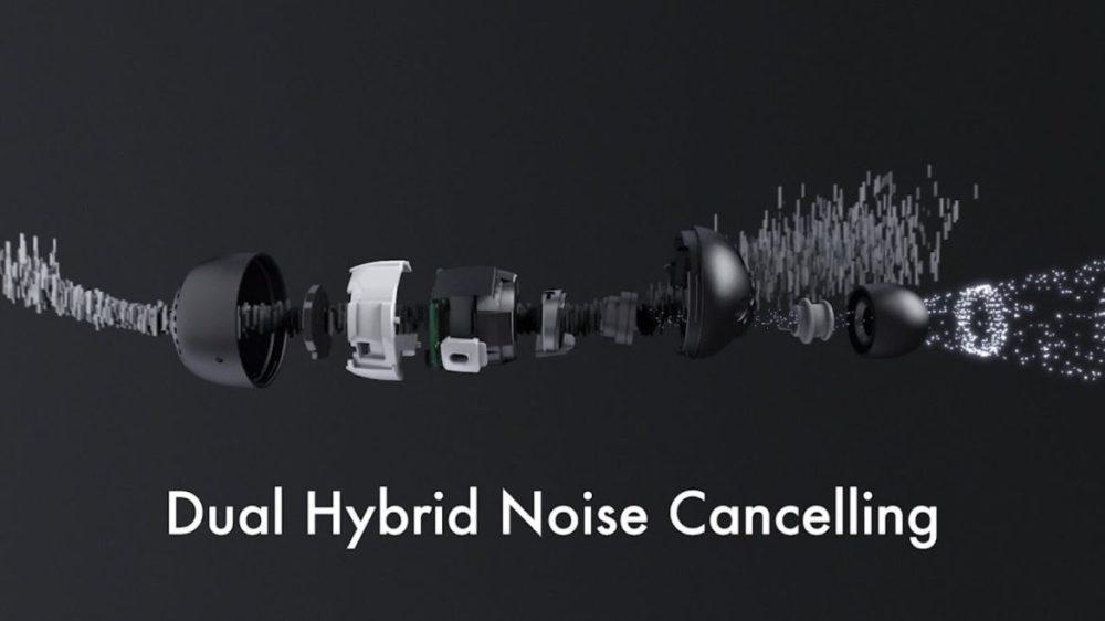Dual hybrid ANC Panasonic