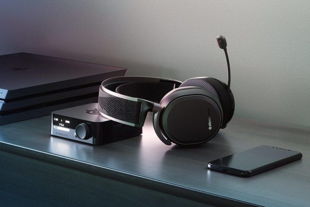 Arctis Pro Wireless black PS4