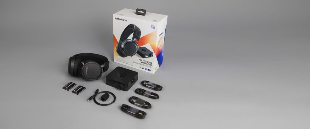 arctis pro wireless what is in the package