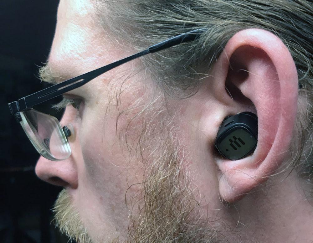 photo: senses.se - Epos - GTW 270 Hybrid - Close-up in the ear.