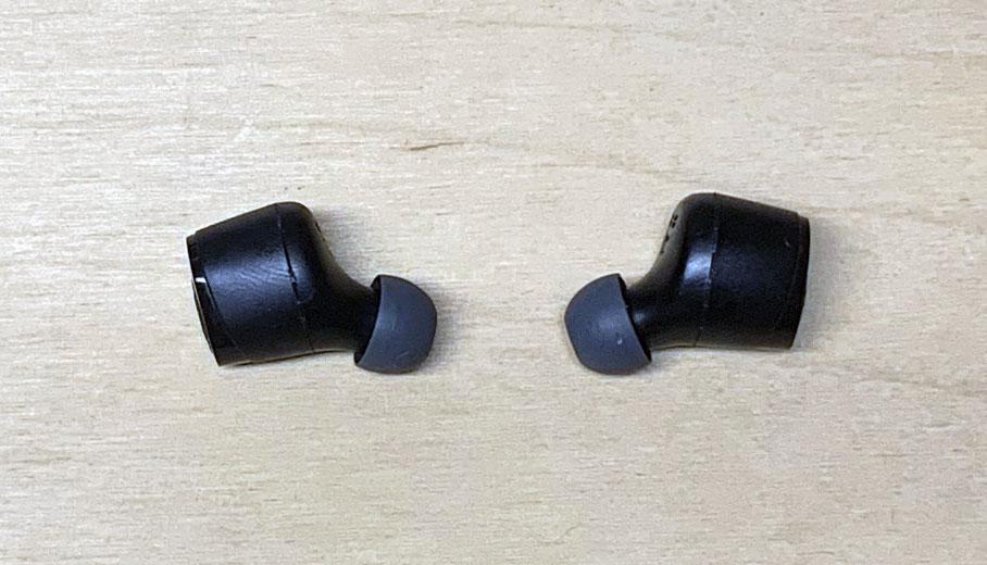 Skullcandy - Jib True Wireless - photo: senses.se - Close up headphones