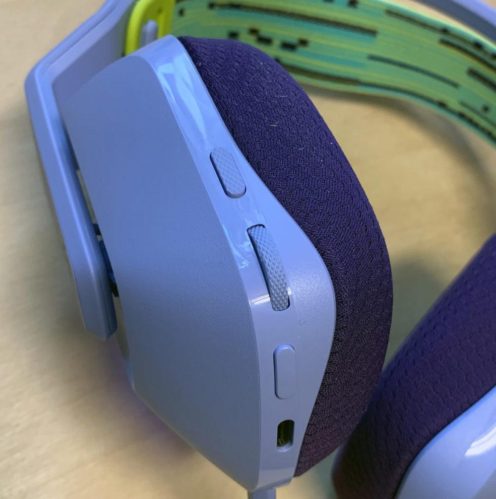 Photo: Senses.se - G733 Logitech - Close-up buttons.